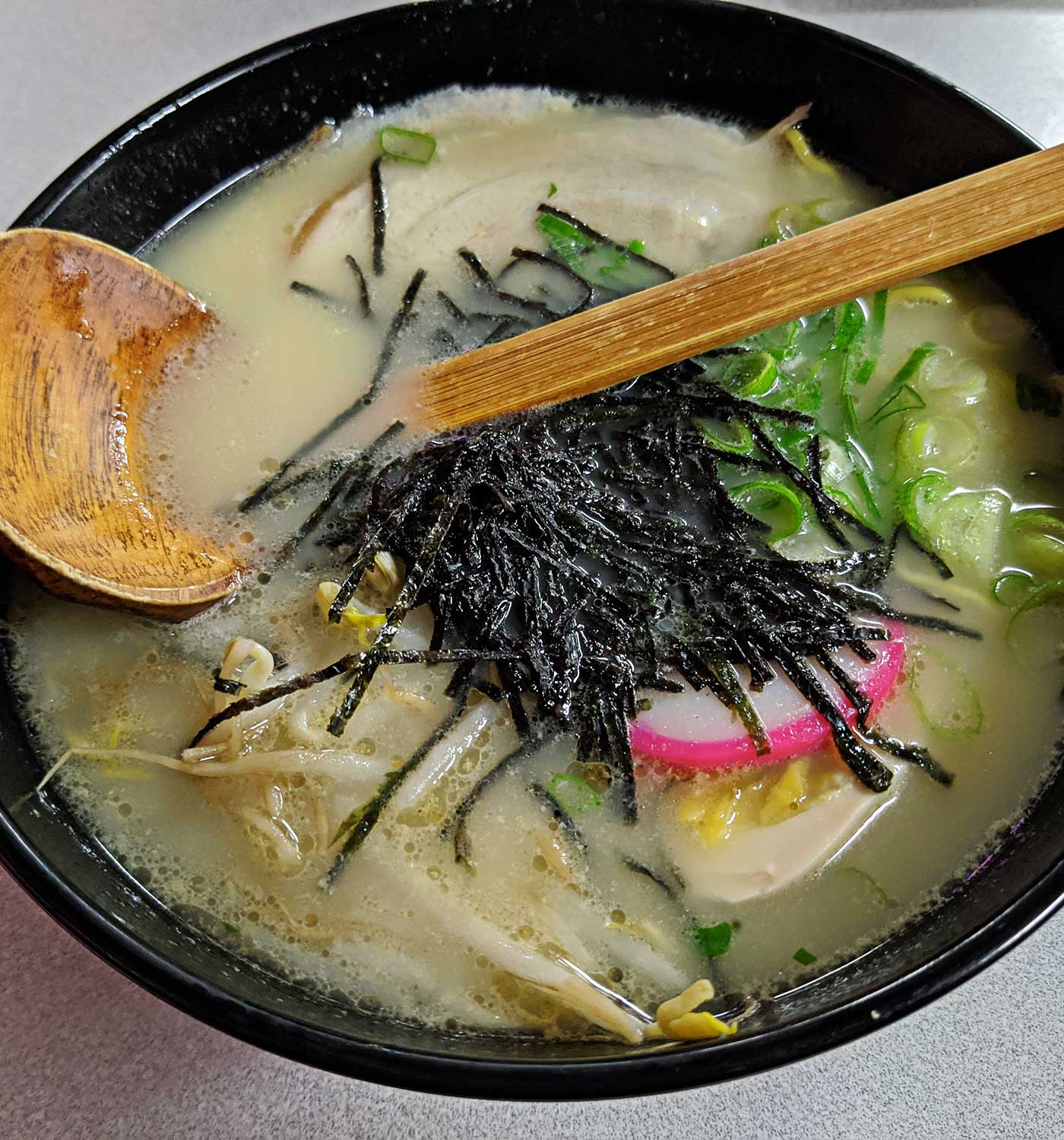 image of ramen bowl at Kenichi Restaurant