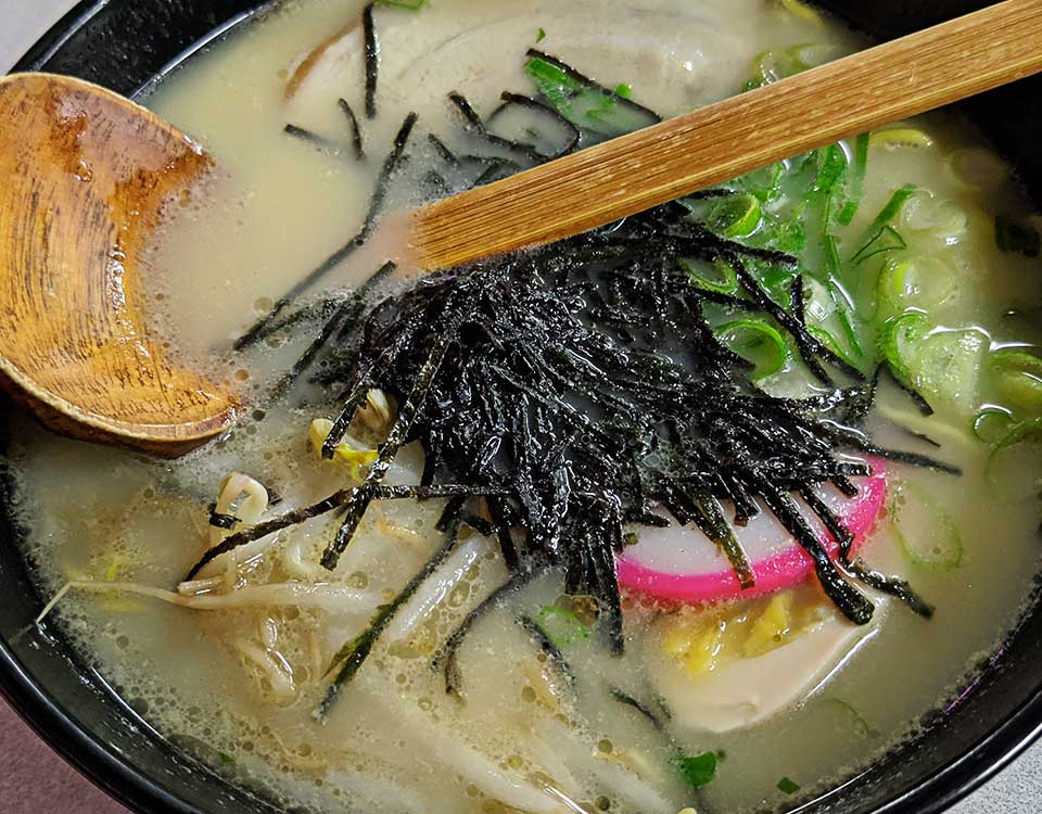 image of ramen bowl served at Kenichi Restaurant